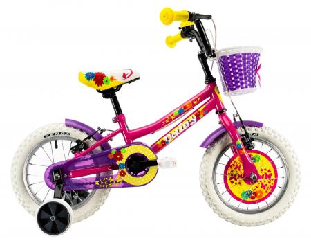 Bicicleta Copii Dhs 1404 Violet 14 Inch [1]
