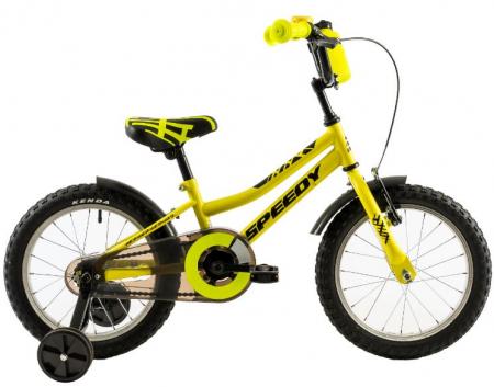 Bicicleta Copii Dhs 1601 Portocaliu 16 Inch1