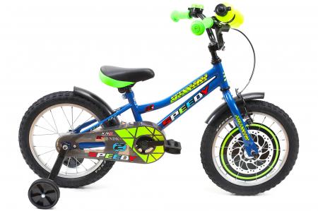 Bicicleta Copii Dhs 1601 Verde 16 Inch1