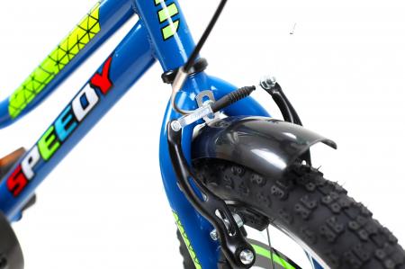 Bicicleta Copii Dhs 1601 Verde 16 Inch4