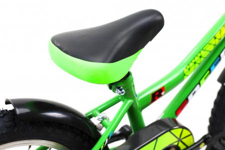 Bicicleta Copii Dhs 1601 Verde 16 Inch6