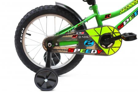 Bicicleta Copii Dhs 1601 Verde 16 Inch7