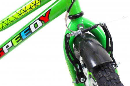 Bicicleta Copii Dhs 1601 Verde 16 Inch8