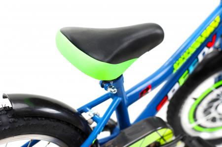 Bicicleta Copii Dhs 1601 Verde 16 Inch2