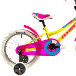Bicicleta Copii Dhs 1602 Galben 16 Inch [2]