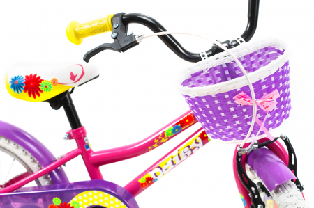 Bicicleta Copii Dhs 1602 Violet 16 Inch4