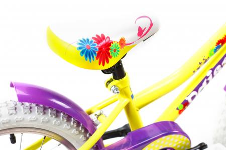 Bicicleta Copii Dhs 1602 Violet 16 Inch6