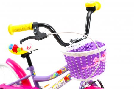 Bicicleta Copii Dhs 1602 Violet 16 Inch11