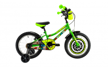 Bicicleta Copii Dhs 1603 Albastru 16 Inch1