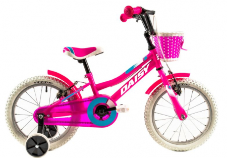 Bicicleta Copii Dhs 1604 Verde/Roz 16 Inch [2]