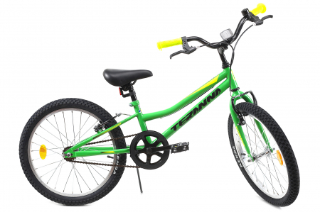 Bicicleta Copii Dhs 2003 Verde 20 Inch0