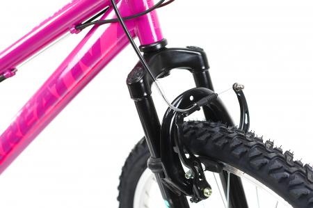 Bicicleta Copii Dhs 2404 Negru/Galben 24 Inch5