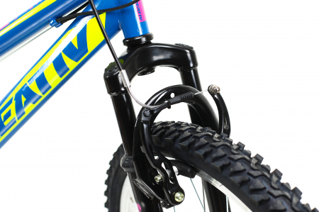 Bicicleta Copii Dhs 2404 Negru/Galben 24 Inch4
