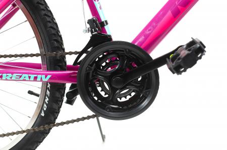 Bicicleta Copii Dhs 2404 Negru/Galben 24 Inch6