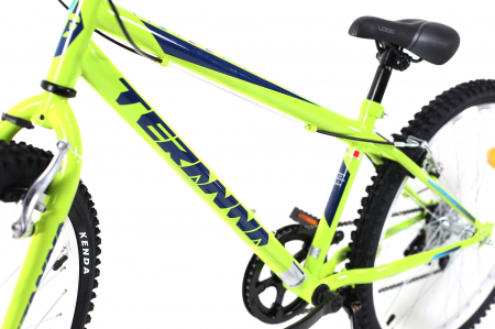 Bicicleta Copii Dhs 2421 Verde Light 24 Inch12
