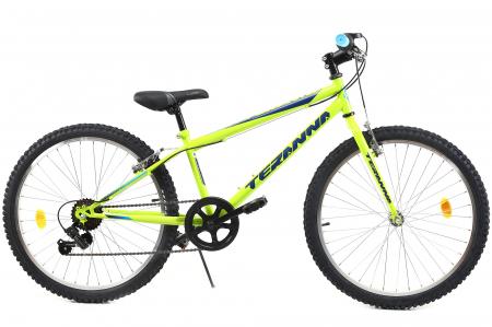 Bicicleta Copii Dhs 2421 Verde Light 24 Inch0
