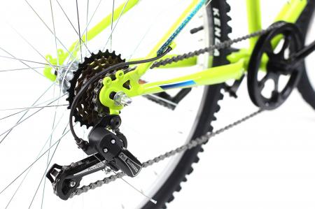 Bicicleta Copii Dhs 2421 Verde Light 24 Inch10