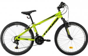 Bicicleta Copii Dhs Terrana 2423 Verde 24 Inch0