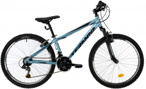 Bicicleta Copii Dhs Terrana 2423 Verde 24 Inch1