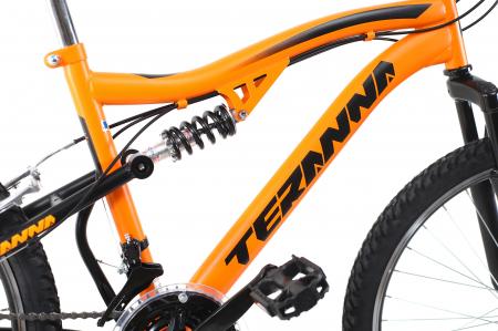 Bicicleta Copii Dhs Terrana 2445 Negru 24 Inch7