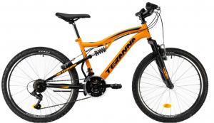 Bicicleta Copii Dhs Terrana 2445 Negru 24 Inch0