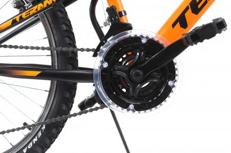 Bicicleta Copii Dhs Terrana 2445 Negru 24 Inch4