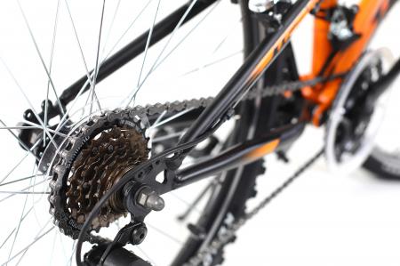 Bicicleta Copii Dhs Terrana 2445 Negru 24 Inch2