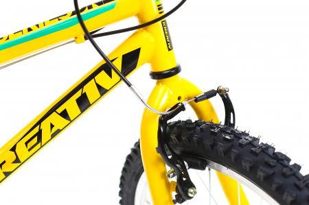 Bicicleta Copii Kreativ 2013 Galben/Verde 20 Inch8