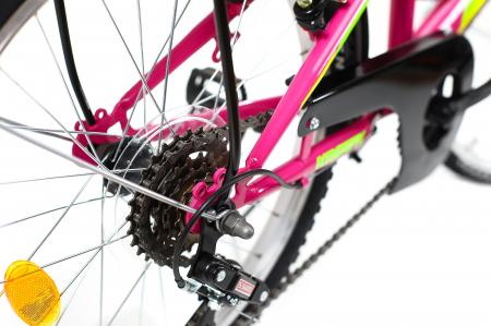 Bicicleta Copii Kreativ 2014 Turcoaz 20 Inch7