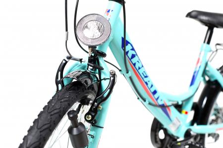 Bicicleta Copii Kreativ 2014 Turcoaz 20 Inch5