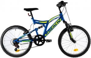 Bicicleta Copii Kreativ 2041 Galben 20 Inch0