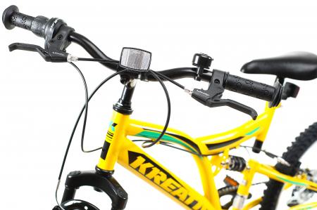Bicicleta Copii Kreativ 2041 Galben 20 Inch6