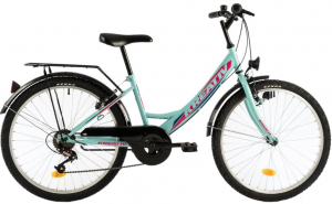 Bicicleta Copii Kreativ 2414 400Mm Turcoaz/Light 24 Inch0