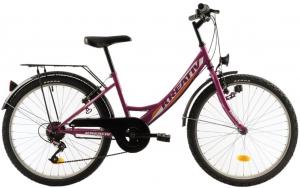 Bicicleta Copii Kreativ 2414 400Mm Turcoaz/Light 24 Inch2