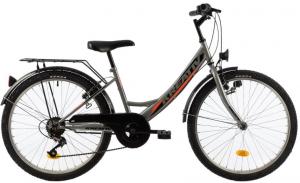 Bicicleta Copii Kreativ 2414 400Mm Turcoaz/Light 24 Inch1