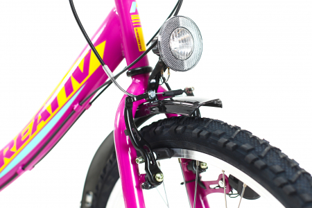 Bicicleta Copii Kreativ 2414 Turcoaz Light 24 Inch2