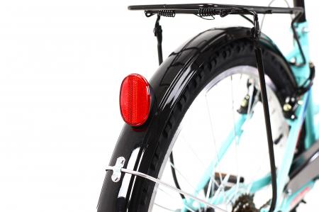 Bicicleta Copii Kreativ 2414 Turcoaz Light 24 Inch9