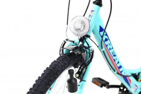 Bicicleta Copii Kreativ 2414 Turcoaz Light 24 Inch10