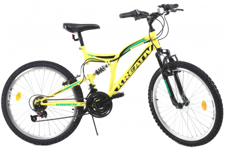 Bicicleta Copii Kreativ 2441 Portocaliu 24 Inch1