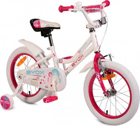 Bicicleta Copii Little Princess - 16 Inch  Alb [0]