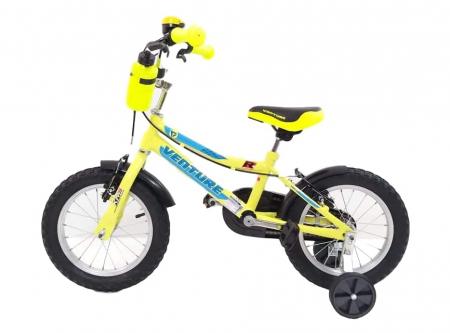 Bicicleta Copii Venture 1417 Galben 14 Inch2