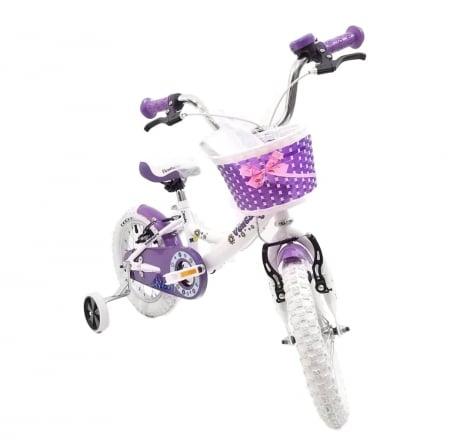 Bicicleta Copii Venture 1418 Alb 14 Inch5