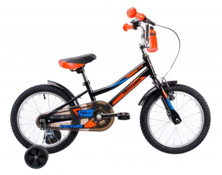 Bicicleta Copii Venture 1617 Gri 16 Inch0