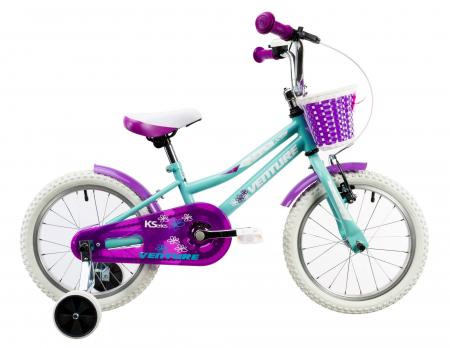 Bicicleta Copii Venture 1618 Alb 16 Inch1