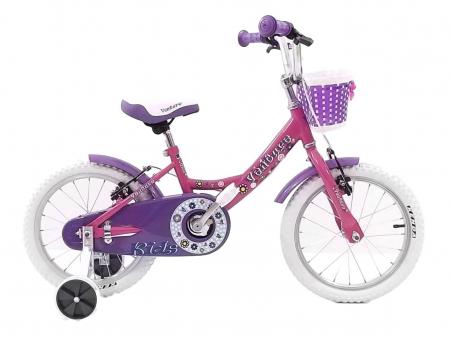 Bicicleta Copii Venture 1618 Alb/Mov 16 Inch [2]