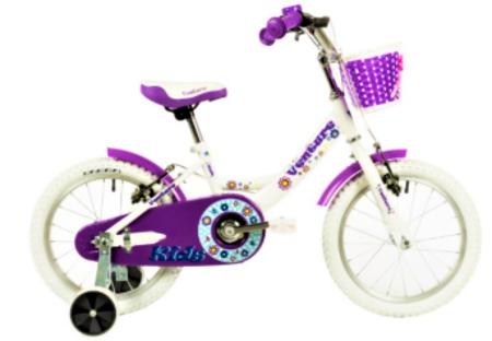 Bicicleta Copii Venture 1618 Alb/Mov 16 Inch [0]