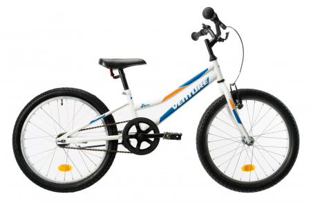 Bicicleta Copii Venture 2011 Alb/Albastru 20 Inch [1]
