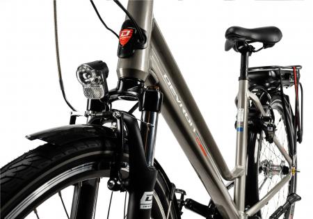 Bicicleta Electrica Devron 26122 M Negru 26 Inch7