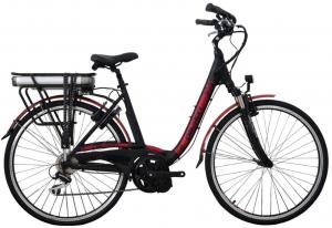 Bicicleta Electrica Devron 28006 Eco I-Vega Negru 28 Inch0