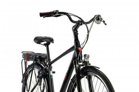 Bicicleta Electrica Devron 28123 M Negru Mat 28 Inch3